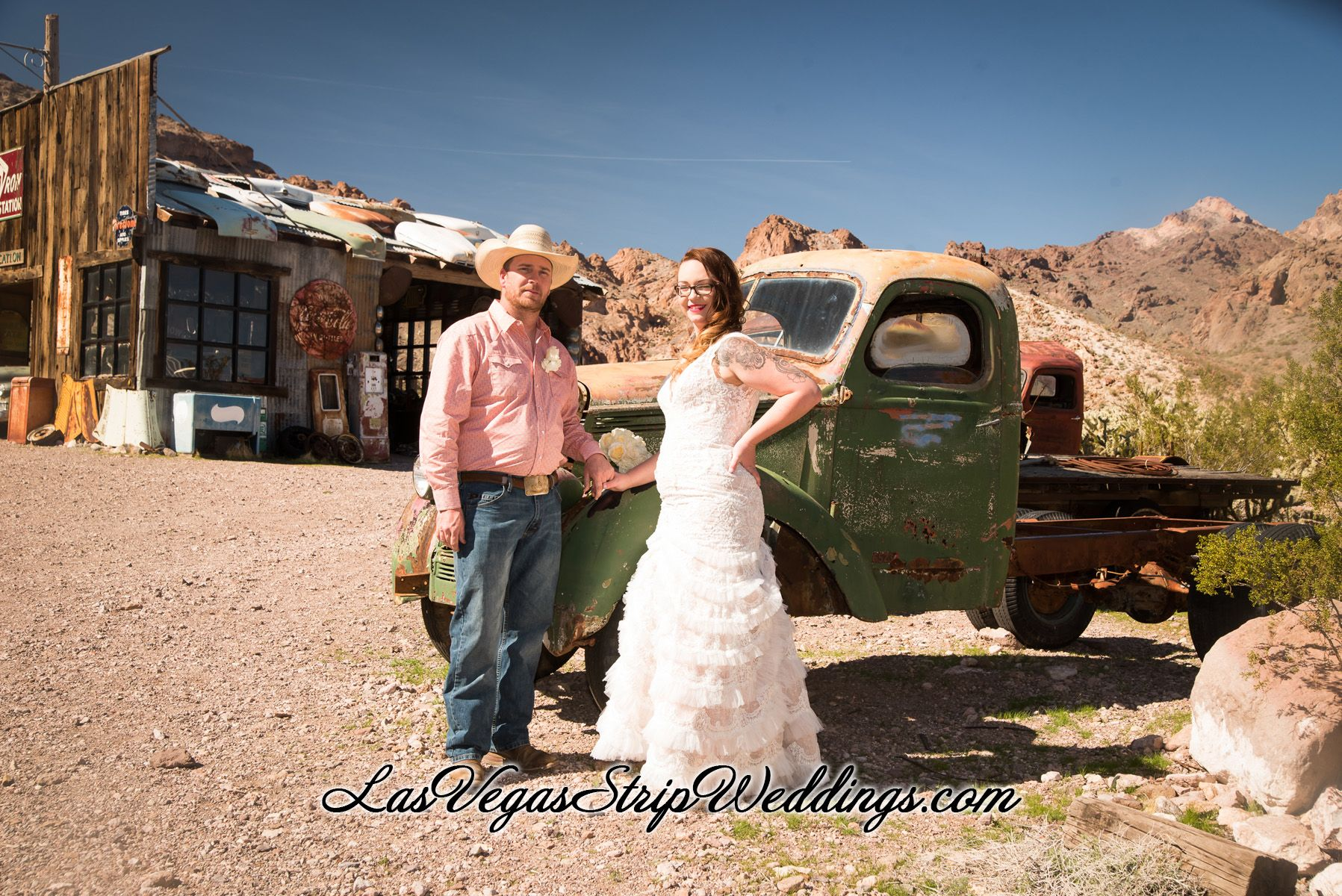 Ghost Town Wedding
