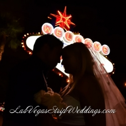 Welcome to Vegas Sign Wedding Packages