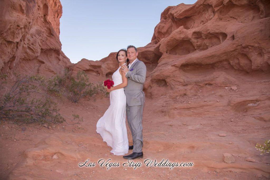 Desert Gold Valley Of Fire Wedding Package Las Vegas