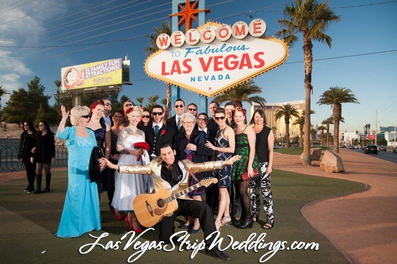 The Elvis Package Las Vegas Wedding Las Vegas Strip Weddings